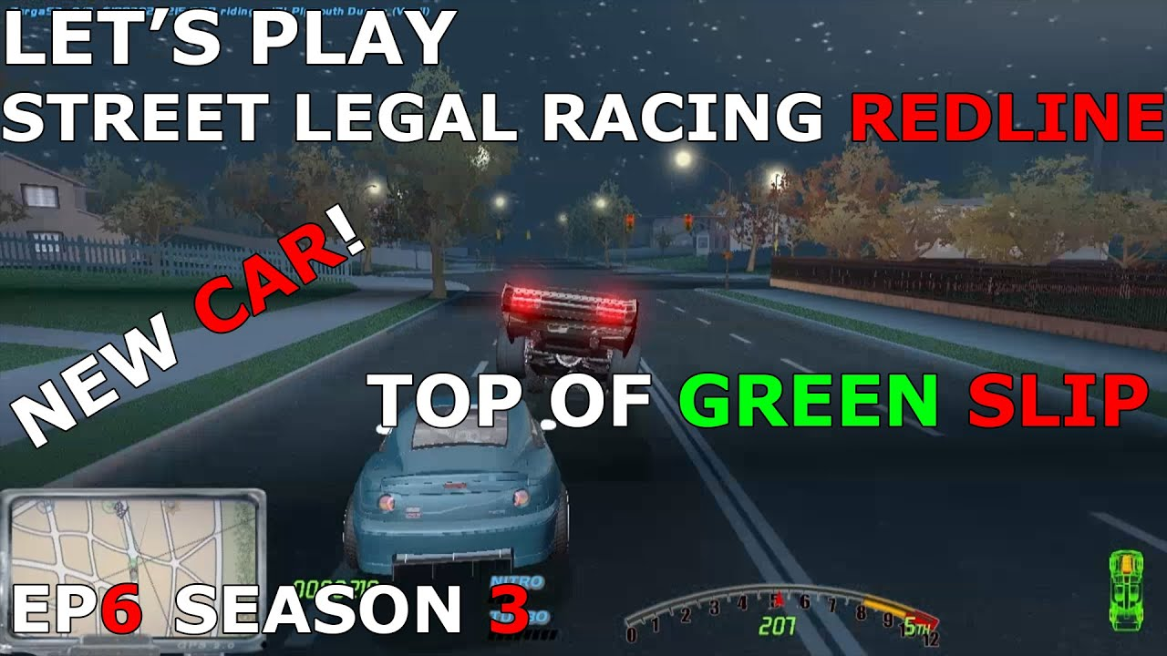 Let's Play Street Legal Racing Redline S3 - EP6 - Attacked by a MX5? - SLRR  WEEK DAY 1