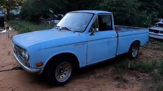 Copart Datsun Pickup Build Pt 3