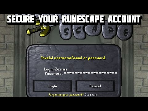 How to Correctly Secure Your Runescape Account