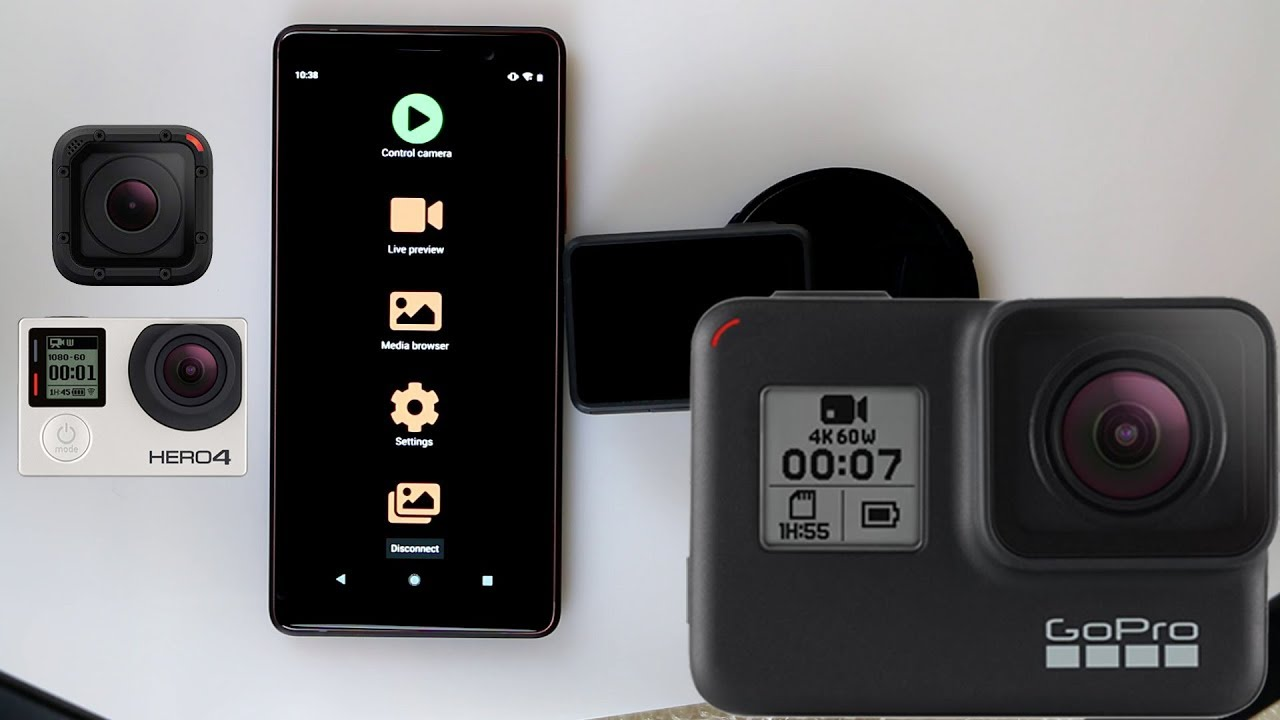 Camera Remote for GoPro Hero App for Android