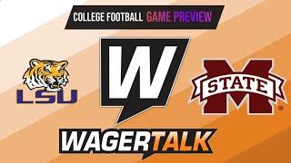 Mississippi State Bulldogs vs LSU Tigers Picks, Predictions and Odds | SEC Football Picks | Sept 25