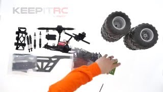 Load Video 2:  Instant RC: Axial Wraith Rock Racer Build- Video 1