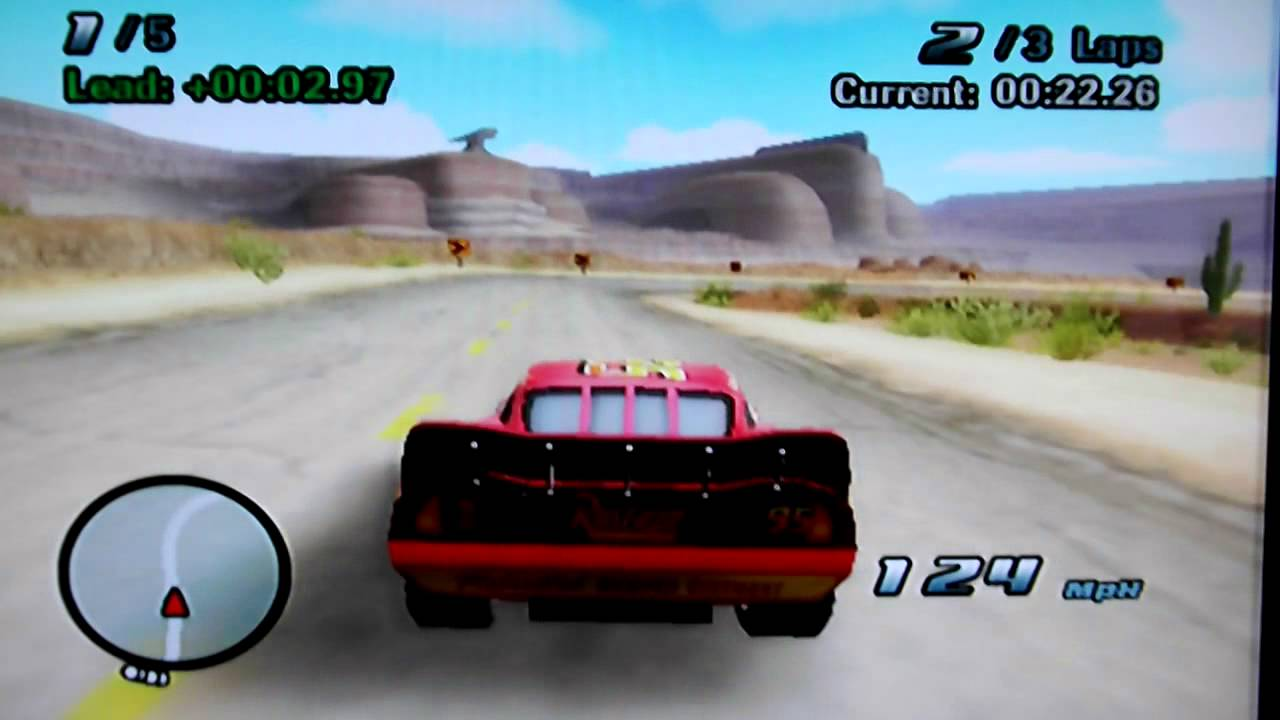 Cars Wii Game Part