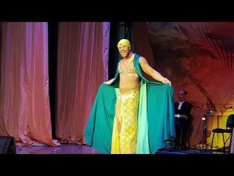 Luxor Show on Ethnodance festival in Saint Petersburg 2018