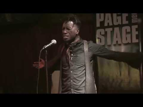 Saul Williams performs