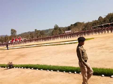 Police Training School, Thenzawl. 67th Batch Passing Out Parade. 21/01/2019 PTS THENZAWL.