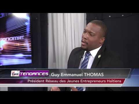 Guy Emmanuel THOMAS a l'emission Tendances de Tele Signal