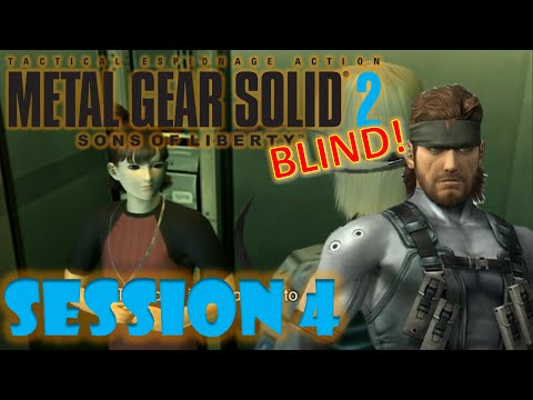 Download Metal gear Solid 2: Sons of Liberty BLIND! Session 4