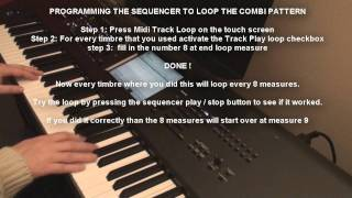 Korg Kronos Tutorial: 03 Using the Sequencer for Recording Combis