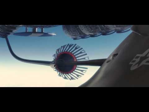 """Stealth"" (2005) - UCAV EDI refuelling at Camel Hump 9"