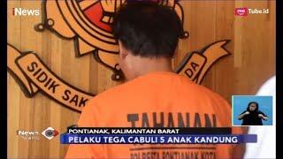 BEJAT! Ayah Cabuli 5 Anak Kandung hingga Satu Korban Melahirkan - iNews Siang 31/03