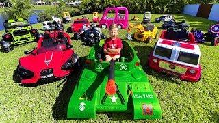 سينيا تريد الكثير من السيارات. سينيا ومغامراته