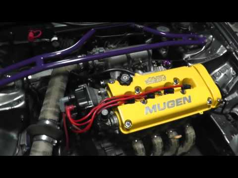 1996 JDM Honda Civic B16B Type R Mugen HD