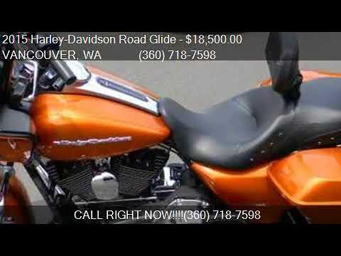 2015 Harley-Davidson Road Glide FLTRX for sale in VANCOUVER,