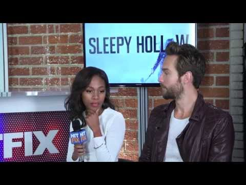 'Sleepy Hollow' stars Tom Mison and Nicole Beharie drop by the HitFix office -- Part 1