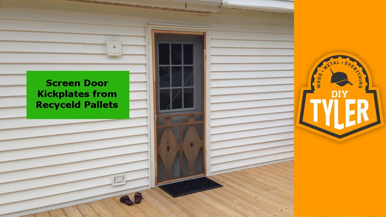 Diy Screen Door Kickplates 001 Youtube