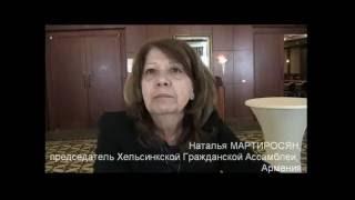 Видео интервью о войне в Карабахе