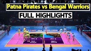 Watch: Pro Kabaddi League: Patna Pirates Beat Bengal Warriors By 50-30   Sports Tak