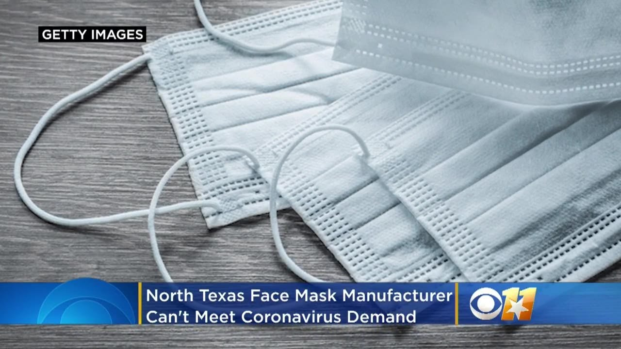 North Texas Face Mask Manufacturer Says Company Can't Meet ...