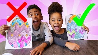3 Marker Challenge with Easter Eggs!