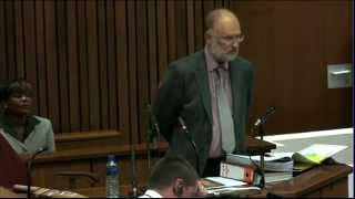 Repeat youtube video Oscar Pistorius Trial: Wednesday 16 April 2014, Session 3