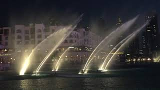 Hero Song by Enrique Iglesias at Dubai Fountain