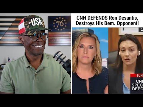 CNN DEFENDS Ron Desantis And DESTROYS His Democrat Opponent!