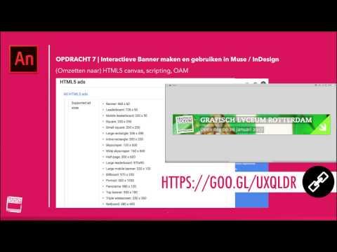 GLR | HTML5 Banner Ad maken in Animate CC