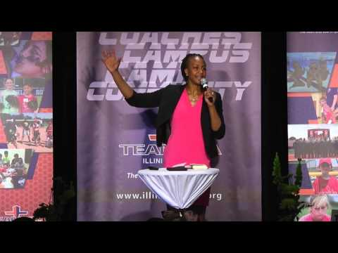 Tamika Catchings - Illini Land FCA Keynote Speaker