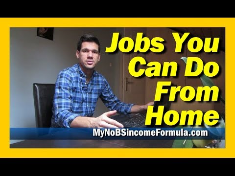 Jobs You Can Do From Home - 100% Legit Online Job! (WATCH THIS)