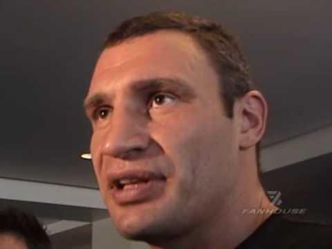 Boxing Stars Vitali Klitschko & Chris Arreola