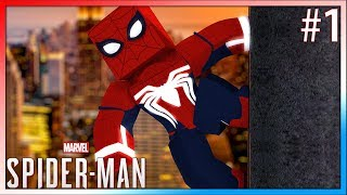 Minecraft: NOVA SERIE ?!! - (SPIDER MAN PS4 IN MINECRAFT) 🕷 #1 ‹ Arthur ›
