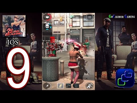 All Guns Blazing iOS Walkthrough - Part 9 - Liberty Jobs, NEW Outfit.
