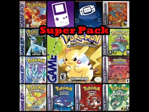 Descargar Superpack De Roms De Pokemon Para Gba Y Gbc Para Android