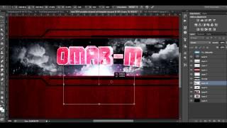 Photoshop CC 2014 Speed Art #1 | Omar-M Youtube Cover