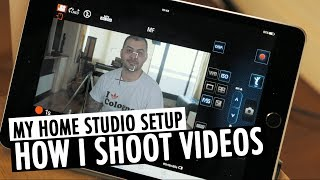 How I Shoot YouTube Videos   Home Studio Setup   RehaAlev