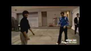 Johnny Weir & Stephane Lambiel Pair Practice 2009 Festa On Ice