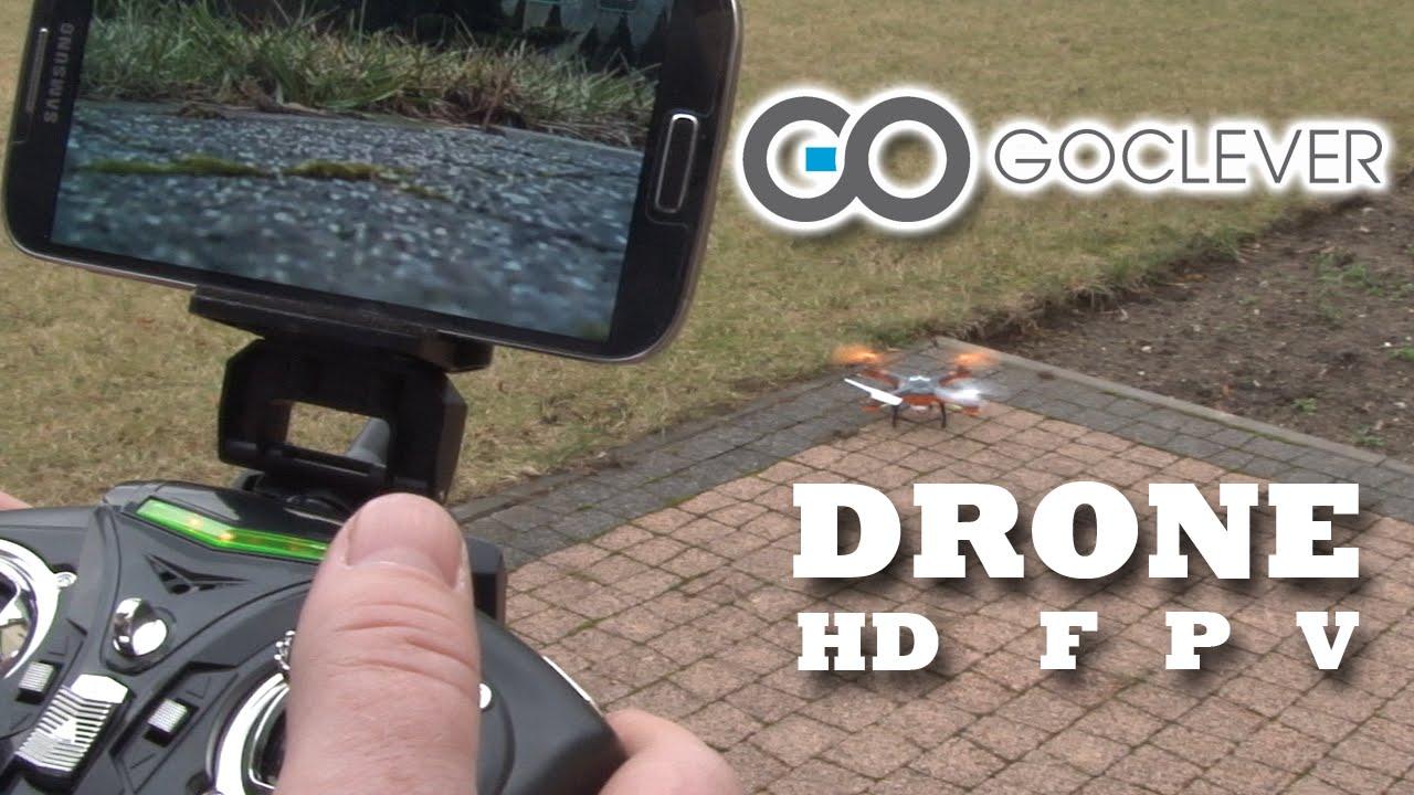 GoClever Drone HD FPV: nie wiesz czy drony to hobby dla Ciebie? Przekonaj  się tanim kosztem