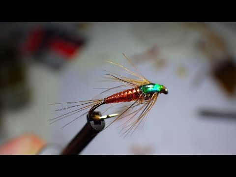 Download Youtube: Tying a Small Elastic Mayfly Nymph by Davie McPhail