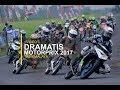 Dramatisnya Dikelas MP1 Motorprix 2017 Tasikmalaya