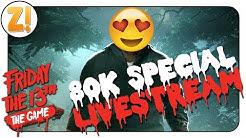 Freitag der 13.: 80.000 Abos Special 10 Stunden Stream! #16 | Let's Play [DEUTSCH][LIVESTREAM]