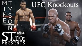 MIKE TYSON KNOCKOUTS EVERY UFC FIGHTER!!!