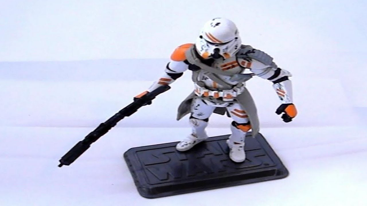 Airborne Clone Trooper Review Hasbro Star Wars Revenge Of The Sith Rots Youtube