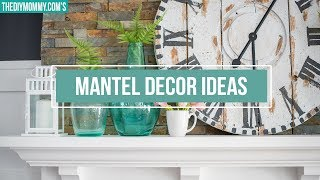 Gambar cover MANTEL DECORATING IDEAS | How to Style a Mantel 2 Ways | The DIY Mommy