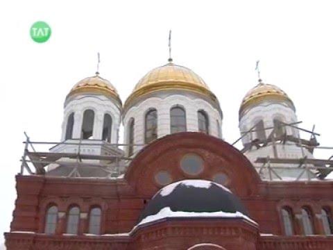 О ходе строительства Свято-Троицкого храма