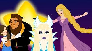 PRINCESS: Beauty & the Beast + Rapunzel + Snow Queen ( बच्चों की नयी हिंदी कहानियाँ)