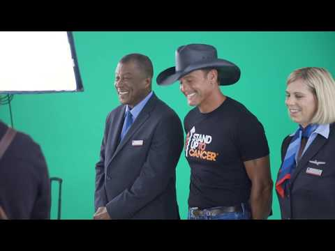 Behind the Scenes - Tim McGraw Sings Support for SU2C