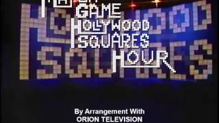 Match Game Hollywood Squares Hour The End?