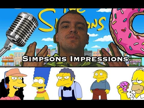 23 Simpsons Voice Impressions (Homer, Marg, Flanders, Mr. Burns, Mo, Ralph Wiggum)