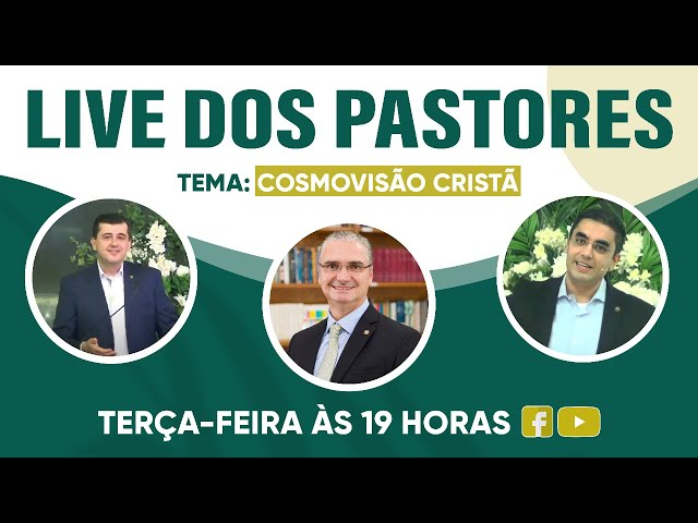Live dos Pastores - 13.07.2021 - 19h